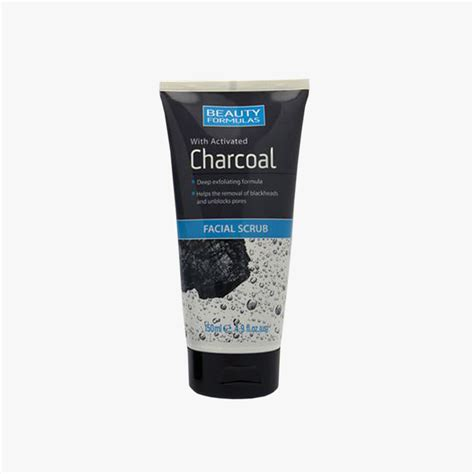 Baby Food Scrub Mask Charcoal formulas charcoal scrub 150ml paxo health