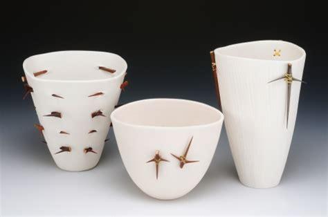 carol snyder ceramics ceramics quot porcelain with thorns quot original by carol