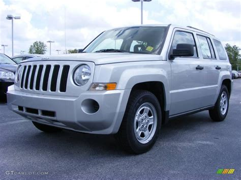 silver jeep patriot 2015 2009 bright silver metallic jeep patriot sport 11891960