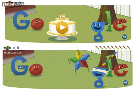 doodle pinata celebrates its 15th birthday with a playable pinata