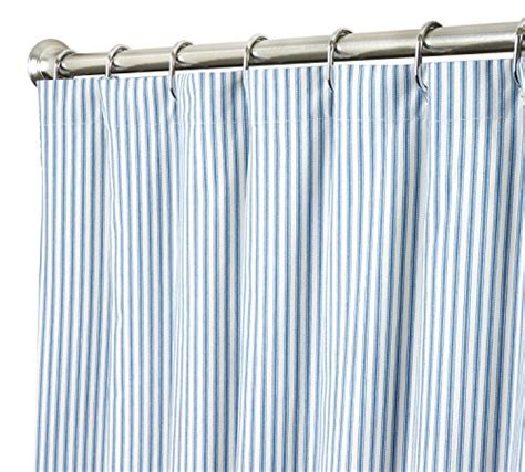 shower curtain 96 inches long extra long shower curtain unique designer fabric blue