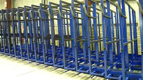 the glass racking company 24 bay 3m x 1 8m hydrulic