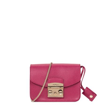 Mini Furla furla metropolis mini bag in purple violet lyst