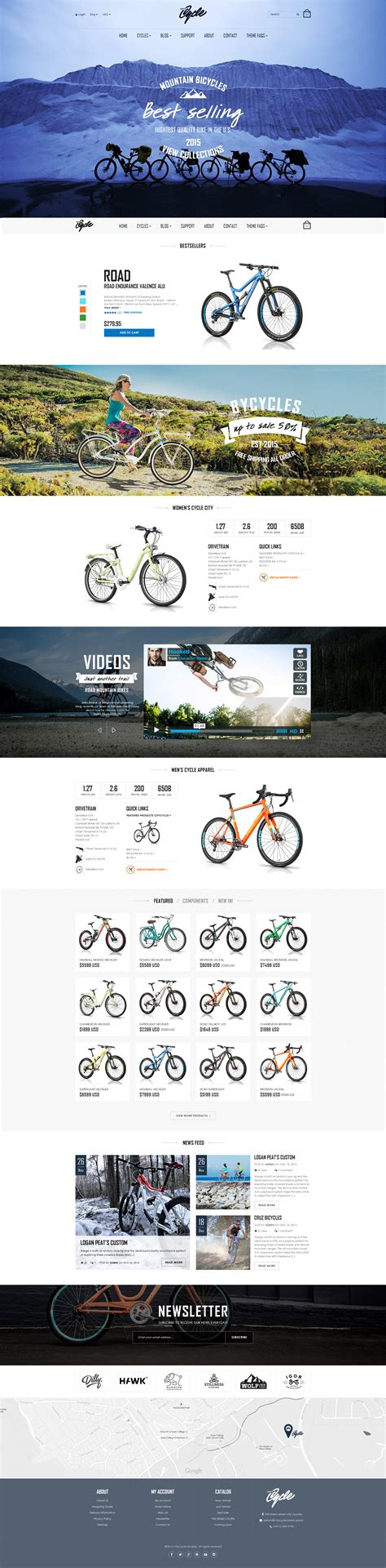 shopify themes responsive 2015 top 20 shopify themes with parallax scrolling effects