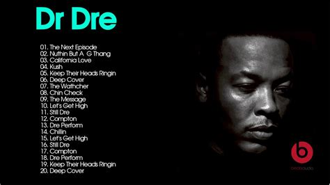Dr Dre Detox List Of Songs by Dr Dre Greatest Hits Dr Dre Best Songs Live Collection