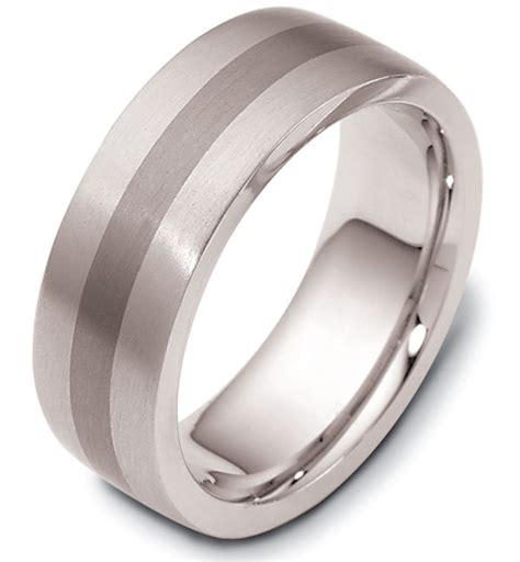 titanium comfort fit wedding bands 117731tg titanium 14k gold comfort fit wedding band