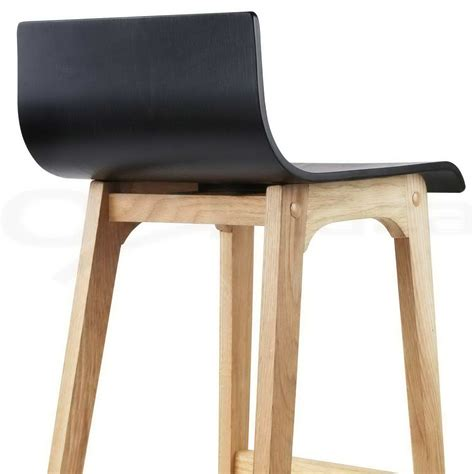 black wooden stools kitchen 2x oak wood bar stools wooden barstool dining chairs