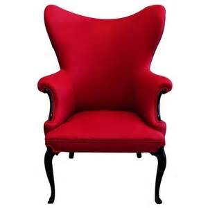 Spindle Back Armchair Red Re Upholstered Linen Wing Back Chair Vandm Com