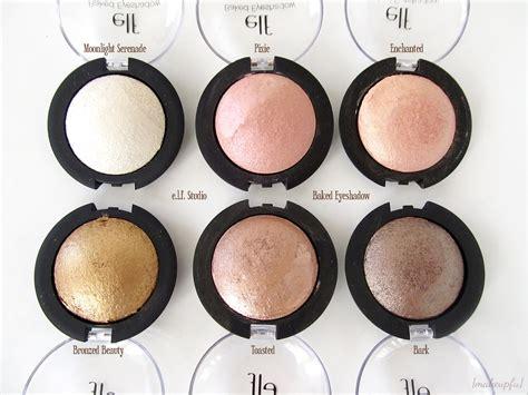 Eyeshadow E e l f studio baked eyeshadow review makeupfu