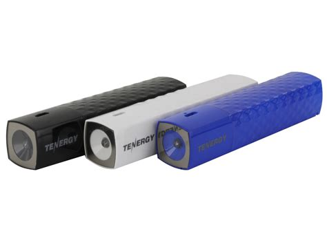 Usb Led Flashlight For Powerbank tenergy lite3000 5v 3000mah mobile power bank charger with led flashlight usb cable black