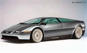 Lamborghini Delorean What A Futuristic Delorean Might Looked Like Techeblog