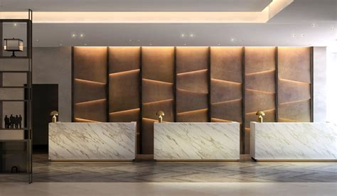 Book Match Marble Reception Counter Google Search Hotel Reception Desk Design