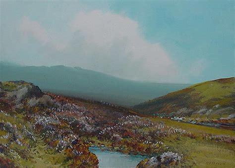 R D Painting by R D Sherrin Dartmoor Original Painting