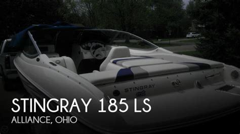 boats for sale in alliance ohio 2011 stingray boats 185 ls alliance oh for sale 44601