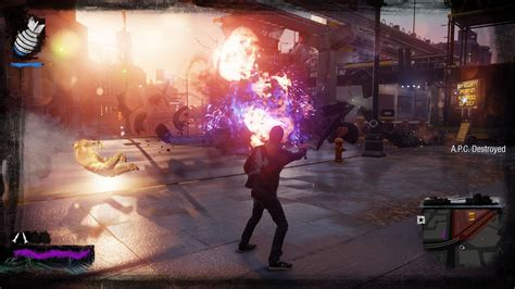 ps4 themes infamous sucker punch celebrates infamous second son anniversary