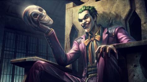 imagenes de joker de navidad filtran al joker como personaje jugable en injustice 2