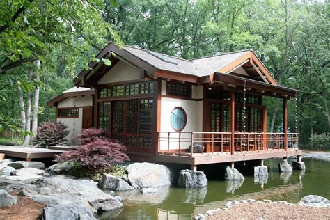 Asian House Plans Grabill Windows And Doors Asian Inspired Tea House