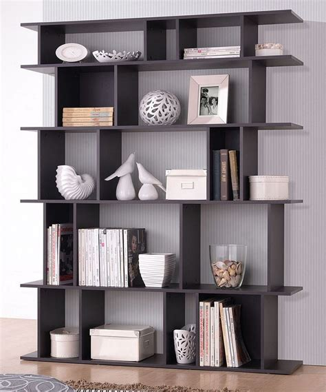 dark brown tilson modern bookcase studios modern