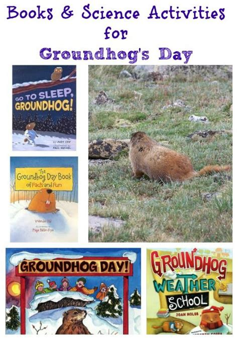 groundhug day books 10 groundhog day activities books groundhog day day