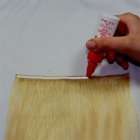 adhesive hair extensions directions to glue in hair extensions weft hair