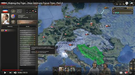 Waking The Tiger teaser in newest waking the tiger hoi4