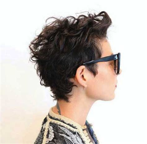 15 Short Curly Pixie Hairstyles   Pixie Cut 2015