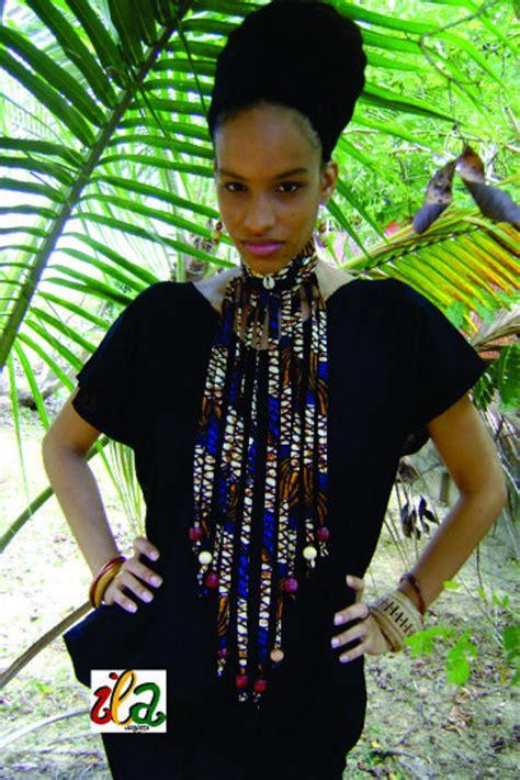 how to make ankara jewelry blue shell ankara fabric beaded collar fringe necklace ila