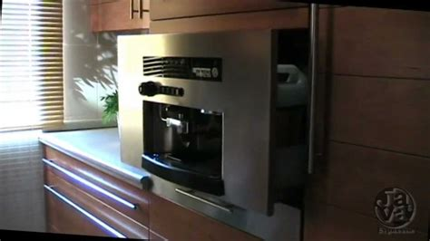 Built in JAVA ® espresso coffee machine for kitchen