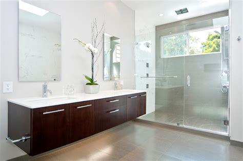 Floating Cabinets Bathroom Bathroom Floating Vanity Lyptus Contemporary Bathroom San Francisco By Cabinets And