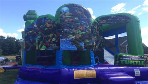 teenage mutant ninja turtles house rent bounce houses northern kentucky southern indiana
