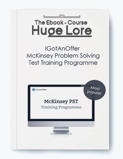 problem solving test igotanoffer mckinsey problem solving test