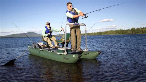 fishing from inflatable pontoon boat inflatable pontoon fishing boat 2 extraordinary models