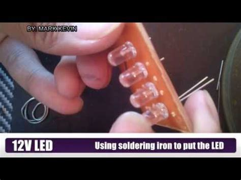 how to wire led s in a series circuit doovi