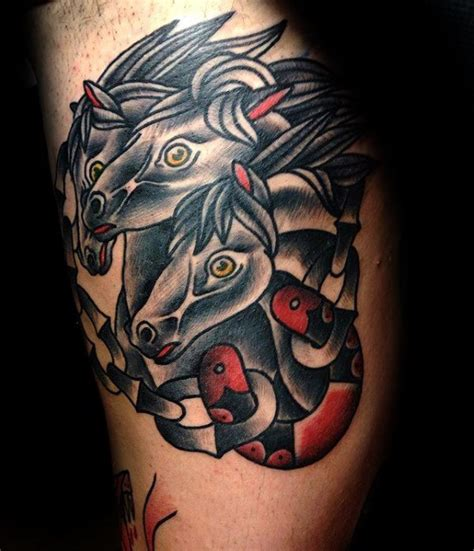 horse tattoo inspiration 40 traditional horse tattoo designs for men retro ink ideas