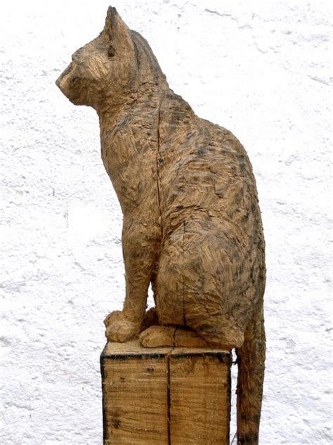 Katze Aus Holz by Tiere Gerhard Nerowski De