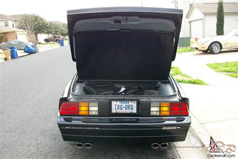 1986 camaro iroc z28 value 1986 clean black t top iroc z28 camaro