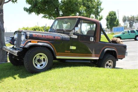 jeep scrambler 4 door find used 1982 jeep scrambler cj 8 sport utility 2 door 4