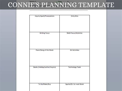 inquiry based lesson plan template blank preschool weekly lesson plan template my printable
