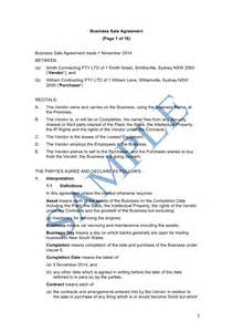 business sale contract template free free sle business agreement format resume daily