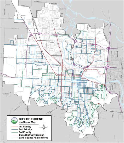 map of oregon city area eugene oregon city map eugene oregon mappery