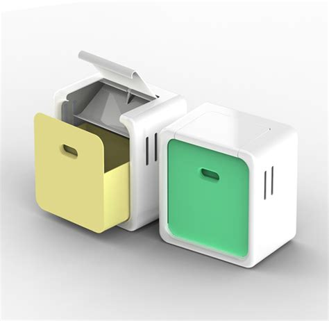 Countertop Waste Container biocan compost container on behance