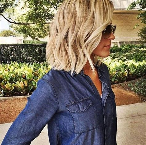 14 medium length textured crop 21 adorable choppy bob hairstyles for women 2018 choppy