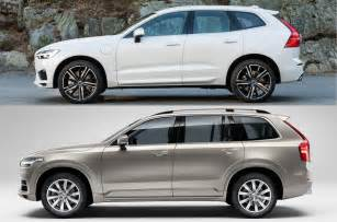 Volvo Xc90 Vs Xc60 How Does The Volvo Xc60 Differ From The Xc90 Autocar