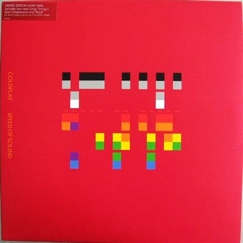coldplay x and y vinyl coldplay speed of sound vinyl at discogs
