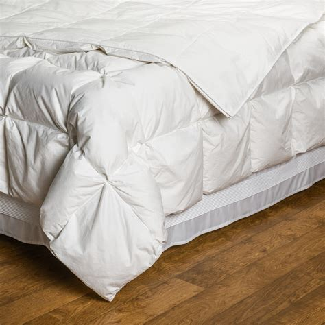 white down comforter twin downtown silver villa collection european white down