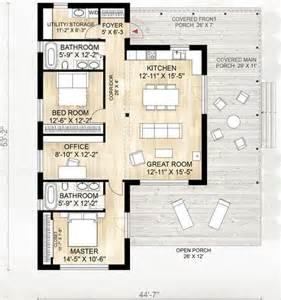 House Foyer Designs Genial Casa De Campo De Una Planta 2 Dormitorios Y 114