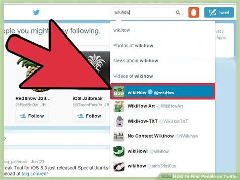 Find Peoples Tweets How To Find On 7 Steps With Pictures Wikihow