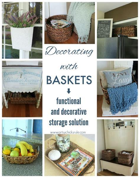 storage with decorative baskets hgtv decorating with baskets functional decorative storage