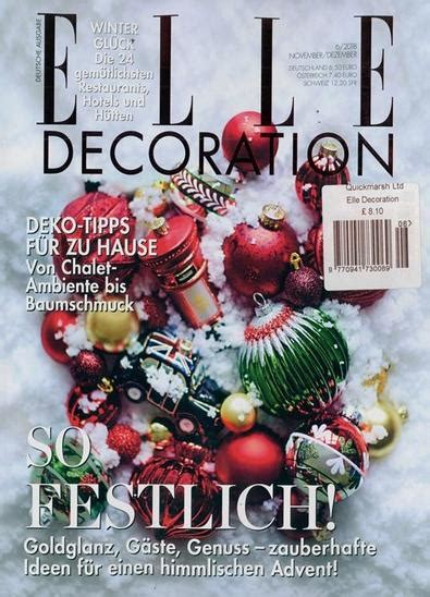 elle decoration germany magazine subscription isubscribe