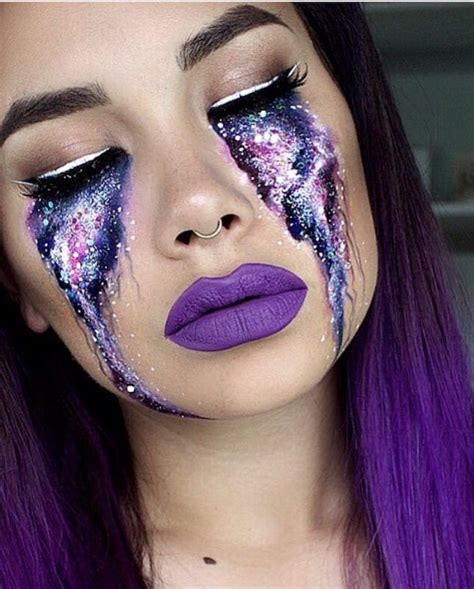 best makeup 40 best galactic space make up images on make